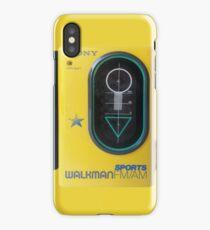 Sony Sports Walkman iPhone Case/Skin