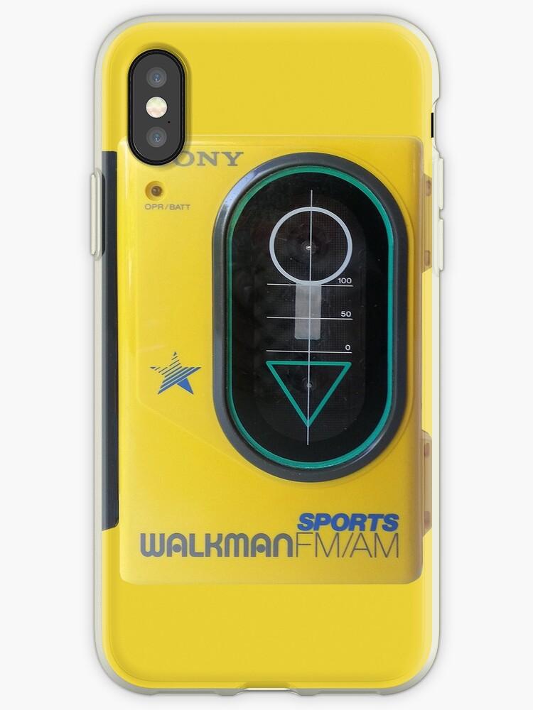 sports shoes bea39 a979f 'Sony Sports Walkman' iPhone Case by Jarivip