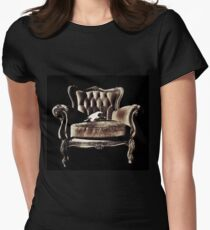 Take a Seat Womens Fitted T-Shirt
