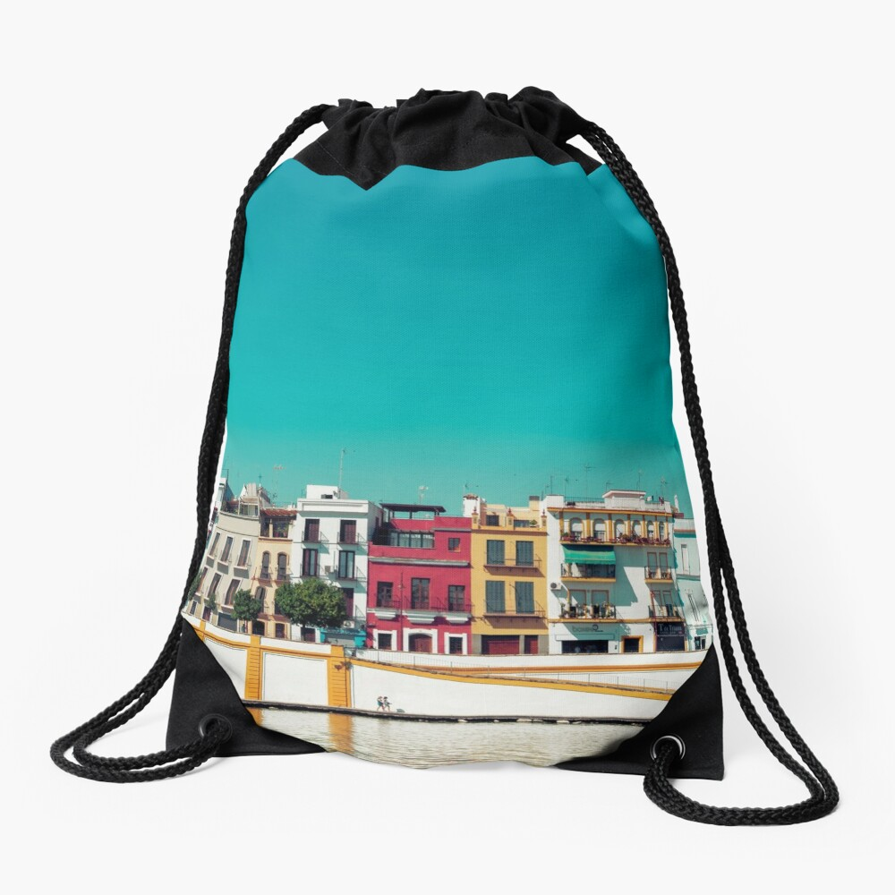 Triana, the beautiful Drawstring Bag Front