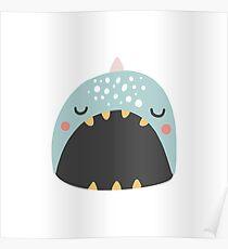Cute animal smiling Poster