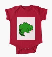 Igua the happy iguana  One Piece - Short Sleeve