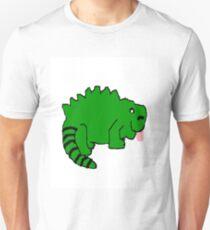 Igua the happy iguana  T-Shirt