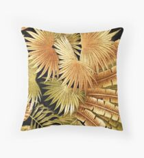 RB 1, Tropical, Floral, Palm Leaf Throw Pillow