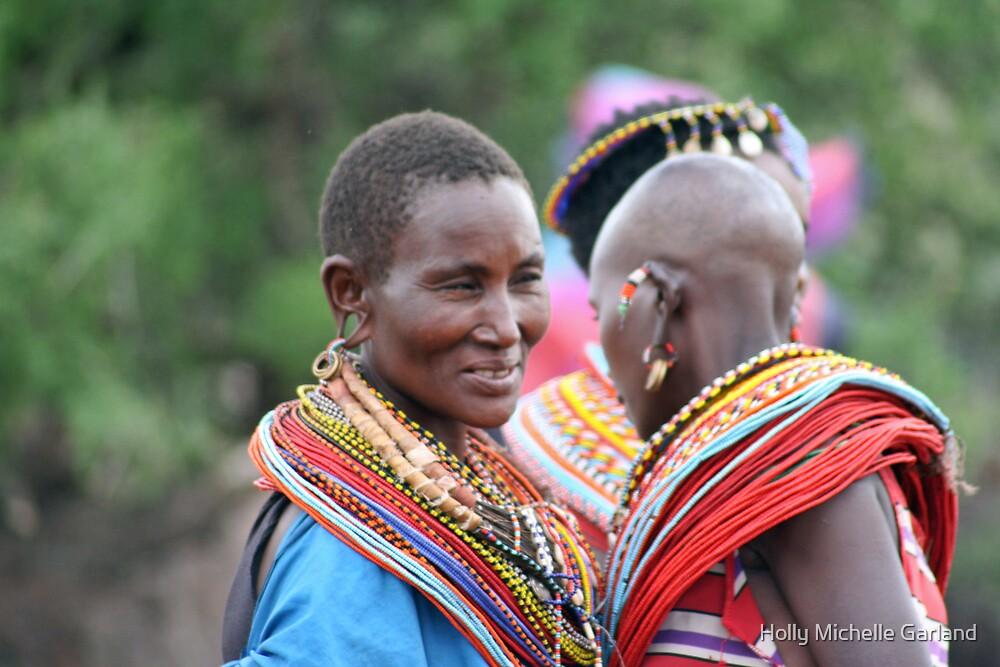 Samburu Women by Holly Michelle Garland