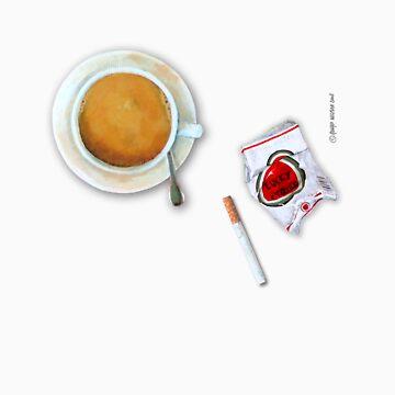 Coffee & cigarette by wigman