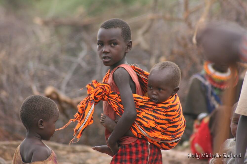 Baby in Samburu by Holly Michelle Garland