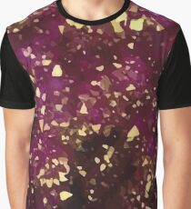 Purple Gold Graphic T-Shirt