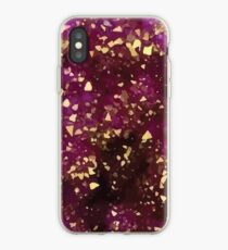 Purple Gold iPhone Case