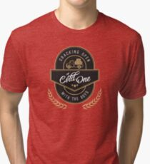Cracking Open a Cold One with The Boys Tri-blend T-Shirt