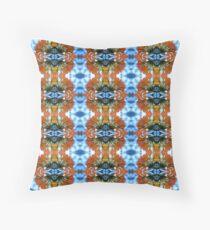 Vireya Rhododendron Pattern Throw Pillow