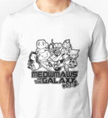 Meowmaws of the Galaxy Vol.2 Unisex T-Shirt