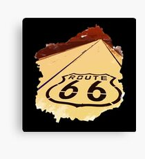 Route 66 - Will Rogers Highway Canvas Print