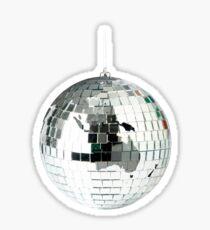 Disco ball world Sticker