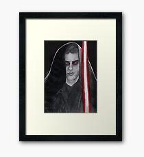 Cody Christian as Anakin Skywalker Framed Print
