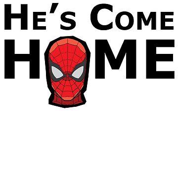 He's Come Home (no speech bubble) by sherman101