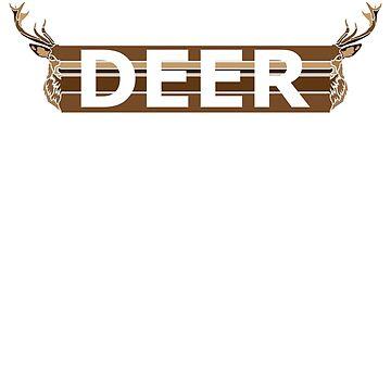 Deer + Type by sherman101