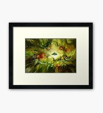 Fantasy Painting Landscape Mystical Framed Print