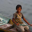 Young Navigator on the Lake by lemontree