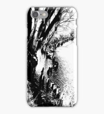 Edge of the river iPhone Case/Skin