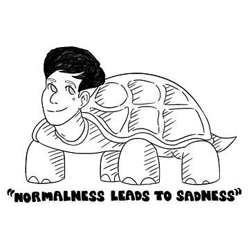 dan & phil - Normalness Leads to Sadness Tortoise by DoodlesByAdzie