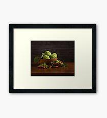 Kansas Harvest I Framed Print
