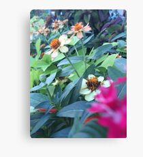 Folly Beach Flowers Canvas Print