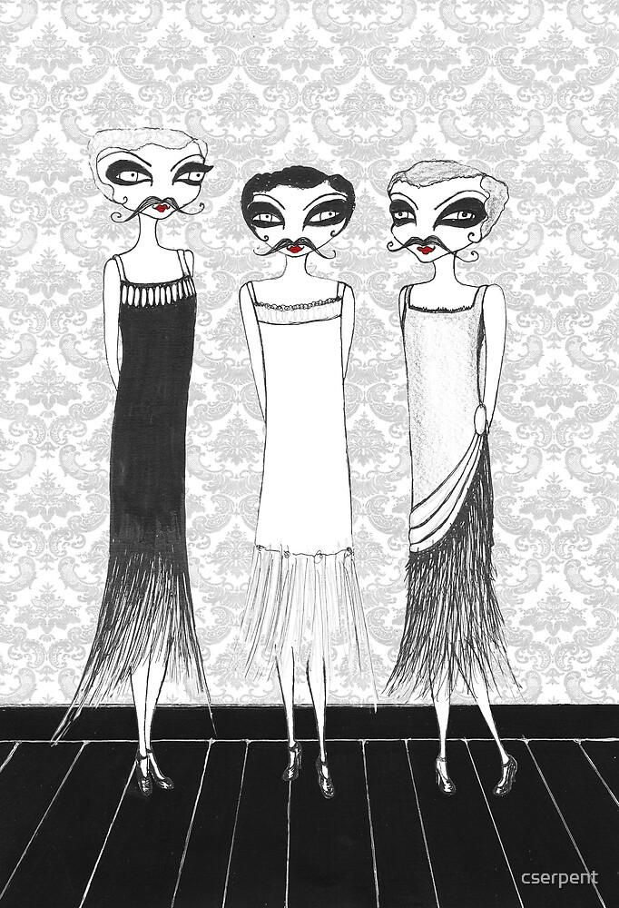 Benjamin, Gerald and Morris by cserpent