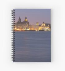 Liverpool Waterfront Spiral Notebook
