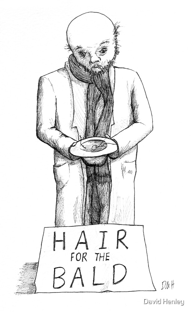 Hair For the Bald by David Henley