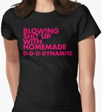 Homemade Dynamite Womens Fitted T-Shirt