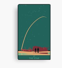 The Star Canvas Print