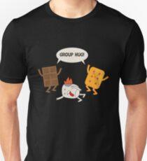 Group Hug - Chocolate Marshmallow Smores Unisex T-Shirt