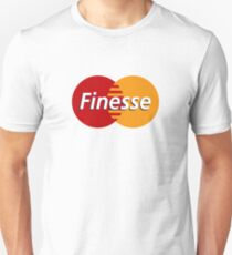 Finesse Mastercard  | White Shirt T-Shirt
