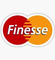 Finesse Mastercard  | White Shirt Sticker