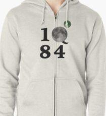 1Q84 Zipped Hoodie
