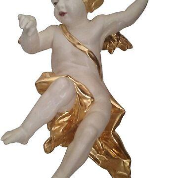 Angel Cherub by atelierwilfried