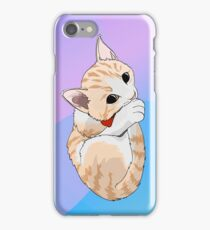 Mikey the Great Kitten with Bowtie iPhone Case/Skin