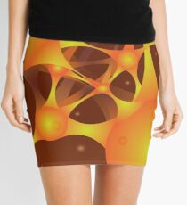 Color abstract background with metaballs. Mini Skirt