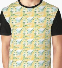 Große Steppe Grafik T-Shirt