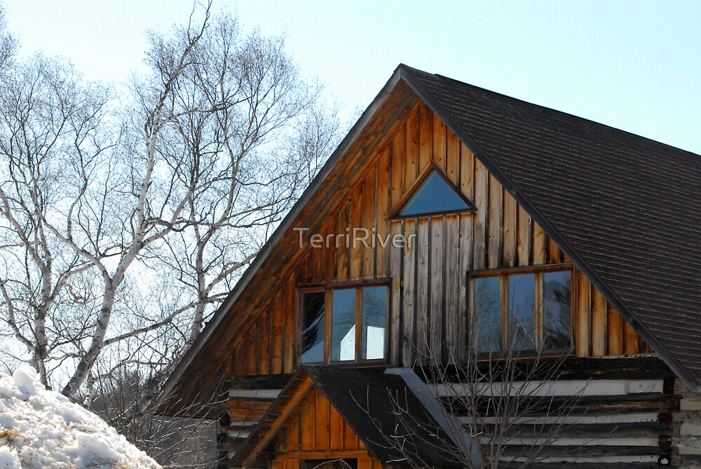 George's Farm House by TerriRiver