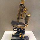 Vintage Microscope by Susan Savad