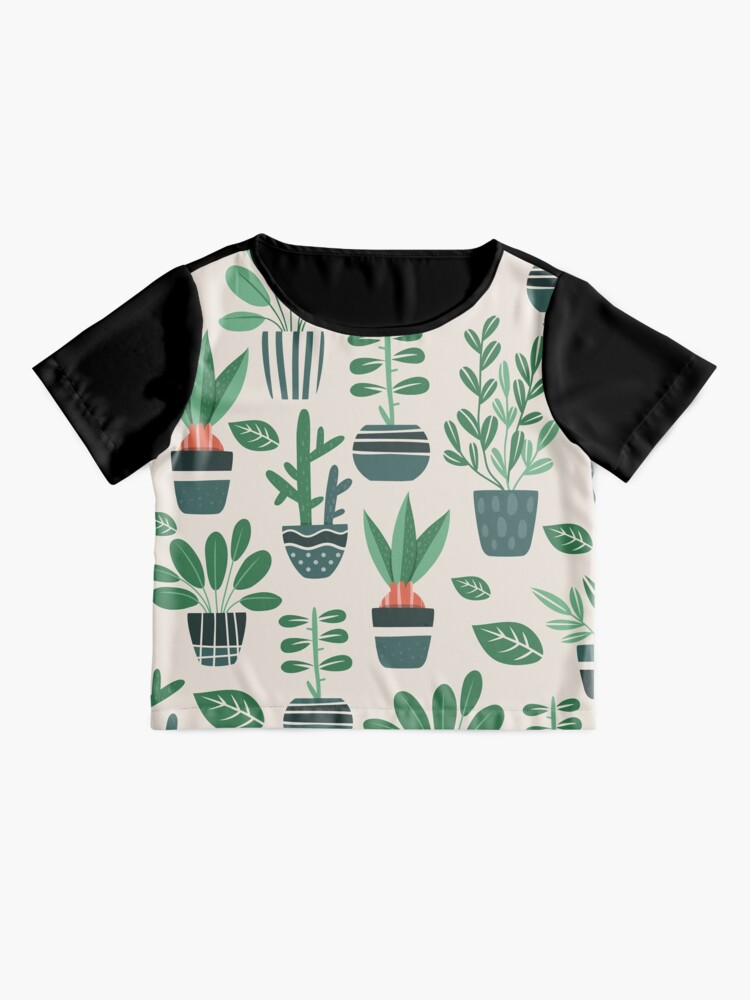 Alternate view of Potted Plants Chiffon Top