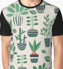Potted Plants Graphic T-Shirt