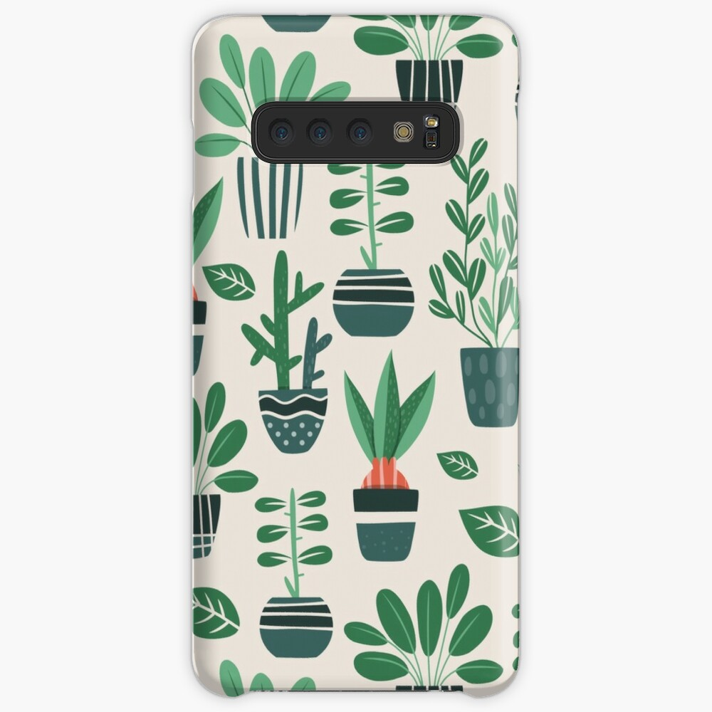Potted Plants Case & Skin for Samsung Galaxy