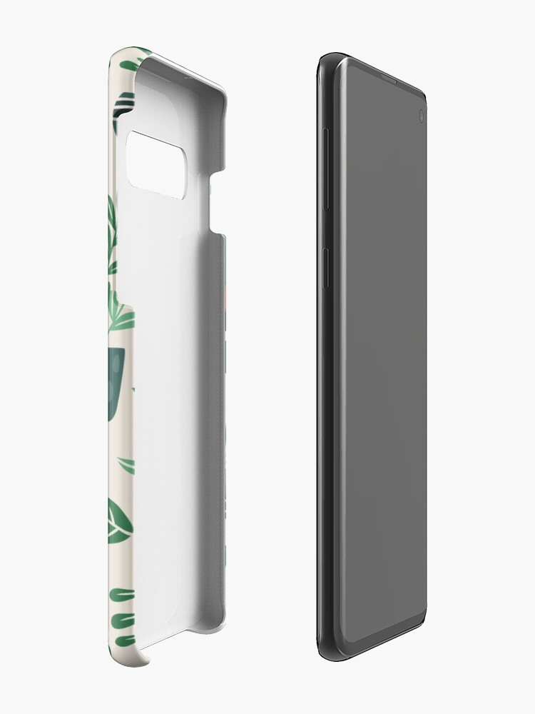 Alternate view of Potted Plants Case & Skin for Samsung Galaxy