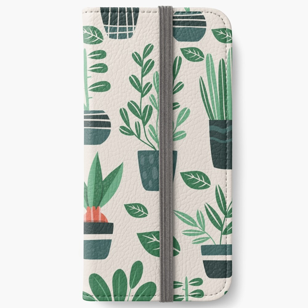 Potted Plants iPhone Wallet
