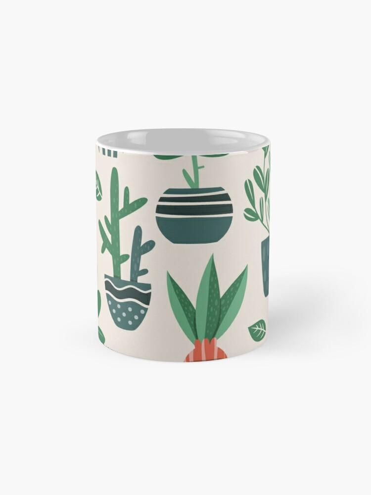 Alternate view of Potted Plants Mug