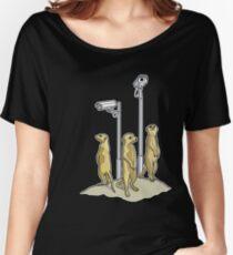 Meerkat CCTV Women's Relaxed Fit T-Shirt