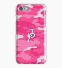Jake Paul pink camo iPhone Case/Skin